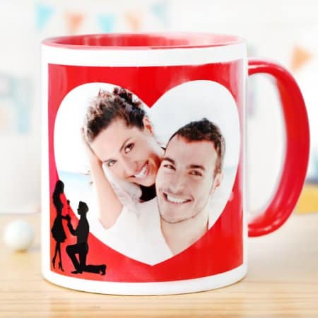 Warm hugs in a personalized mug-Personalized Gifts That Will Get Your Boyfriend Grooving on His Birthday