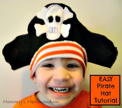 How to Make a Pirate Hat #DIY • Mommy's Memorandum