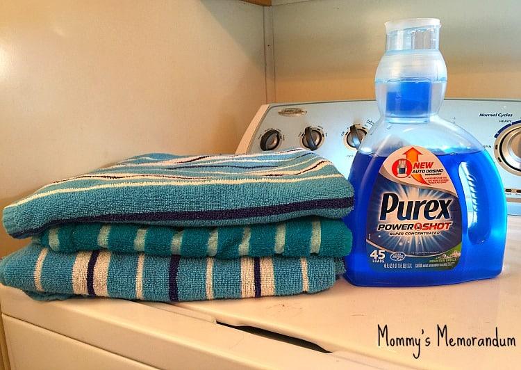 Purex Power Shot Laundry Detergent