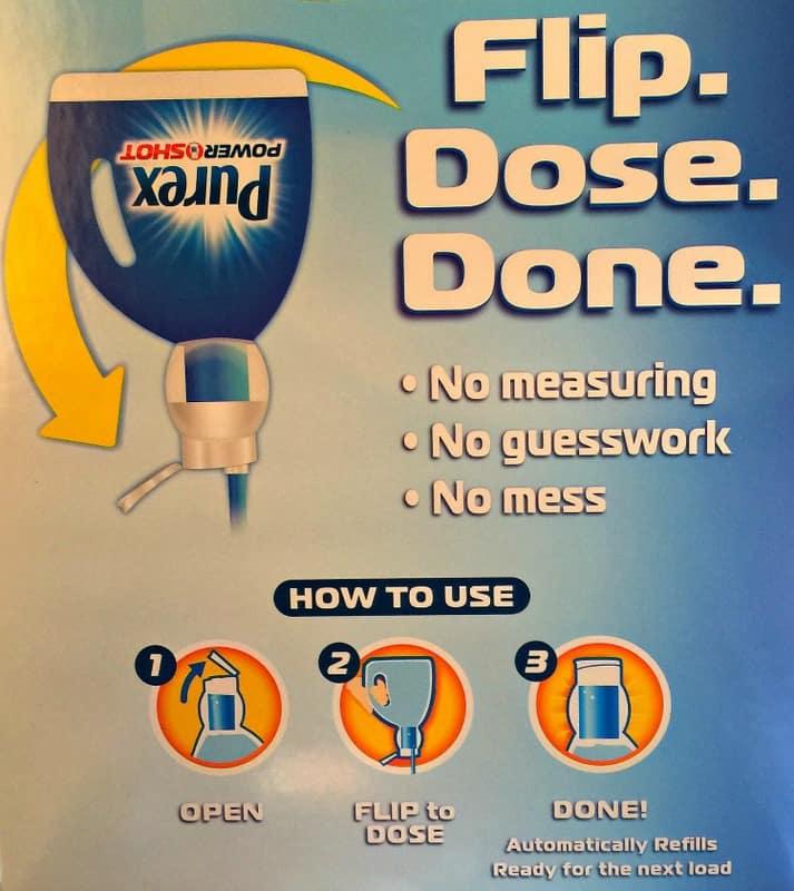 Purex PowerShot Flip Dose Done