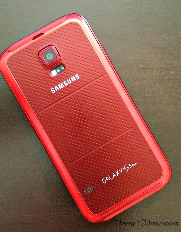 Samsung S5 Sport Red #sprintmom