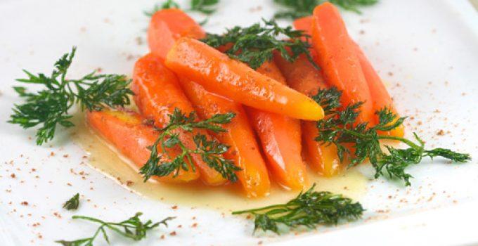 Glazed Carrots Sous Vide