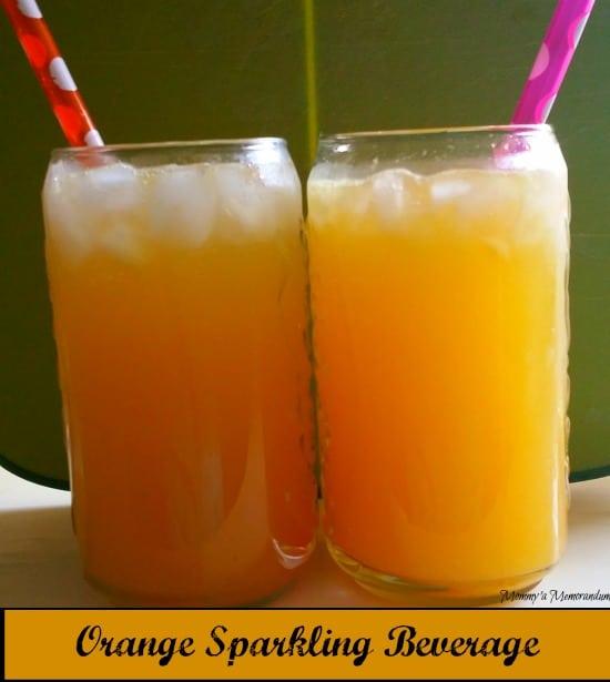 Sparkling Orange Beverage #recipe