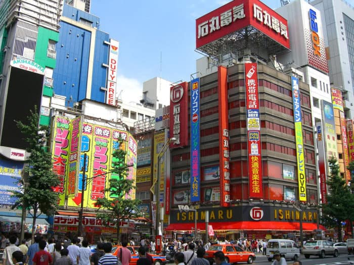 The Eight Amazing Places to Visit in Tokyo Japan Akihabara Electric Town