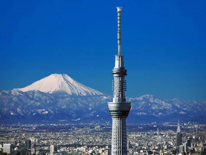 The Eight Amazing Places to Visit in Tokyo Japan tokyo skytree
