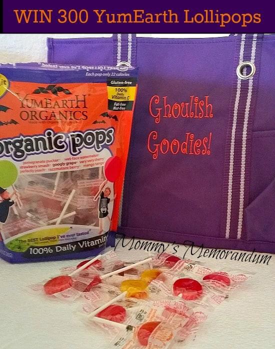 WIN YumEarth Organics Organic Pops