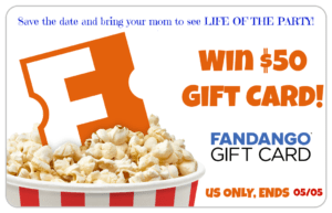 win a $50 Fandango Card to see Life of the Party starring Melissa McCarthy