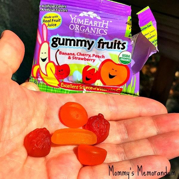 Yumearth gummy fruits