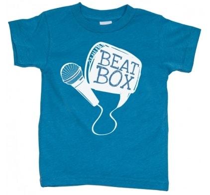 Beat Box Kids T Shirt by little trendstar