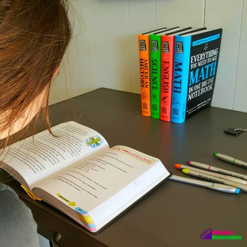 big fat notebooks resource for middle school