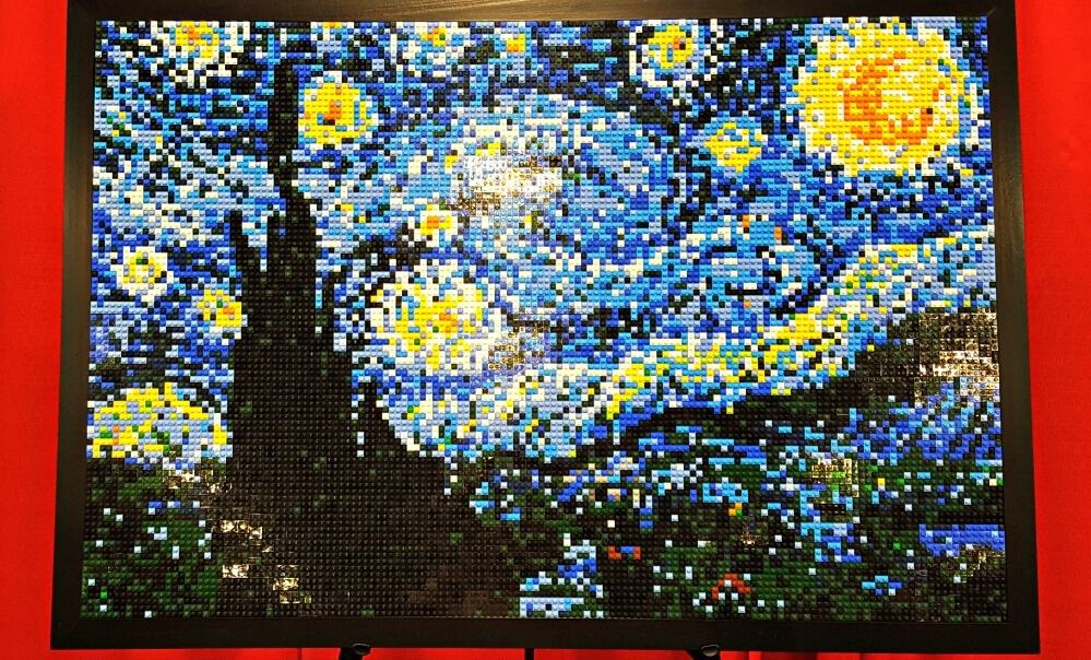 brickfest starry night
