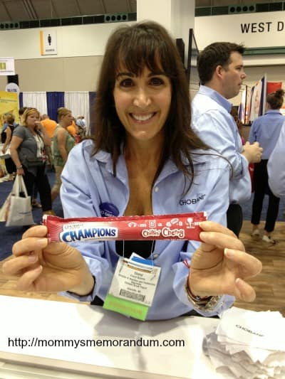 cheryl from chobani greek yogurt #anc13
