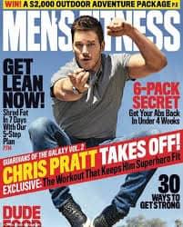 chris pratt on Men's Fitness