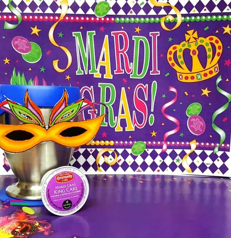 Mardi Gras King Cake Coffee Brings The Celebration To You