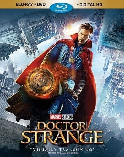 dr strange on blu ray