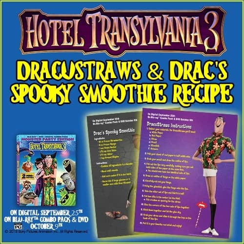 dracustraws and dracs spooky smoothie recipe