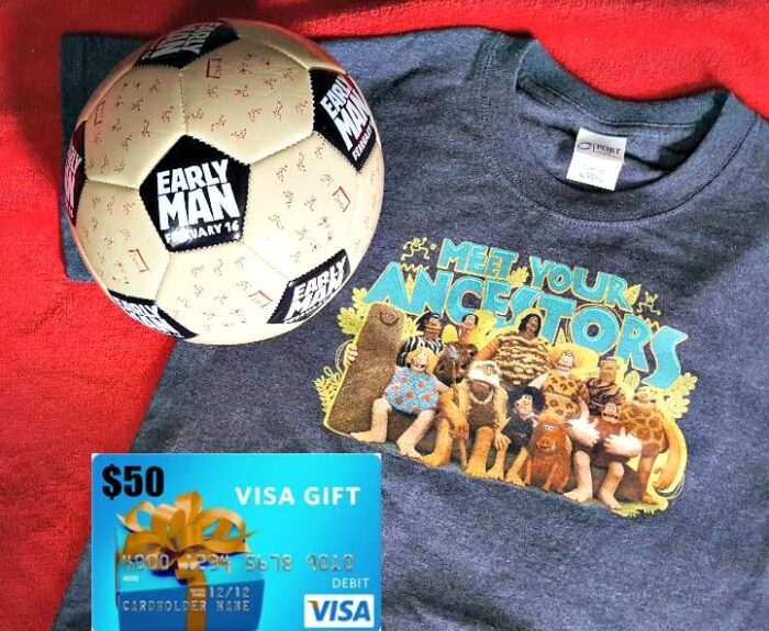 early man movie prize pack