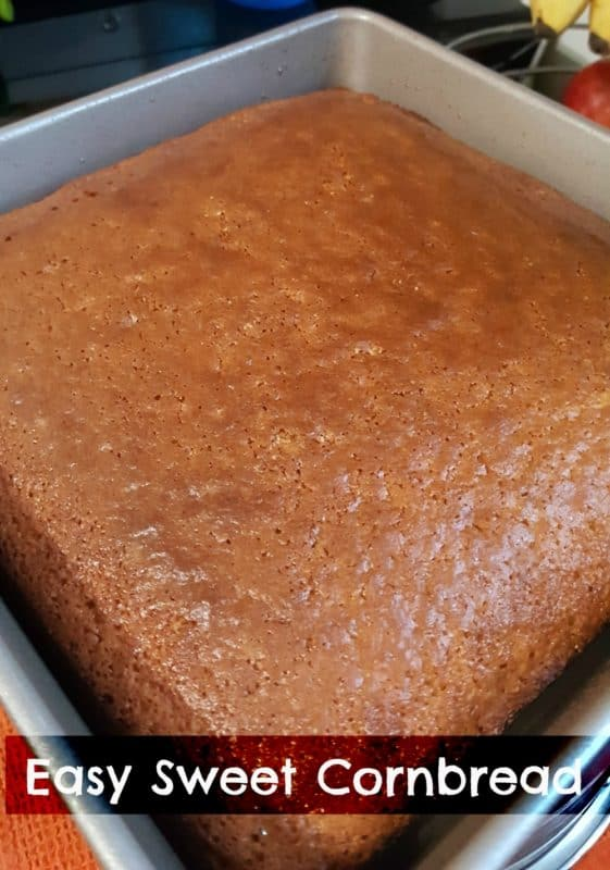Easy Sweet Cornbread Recipe You Won T Be Able To Resist
