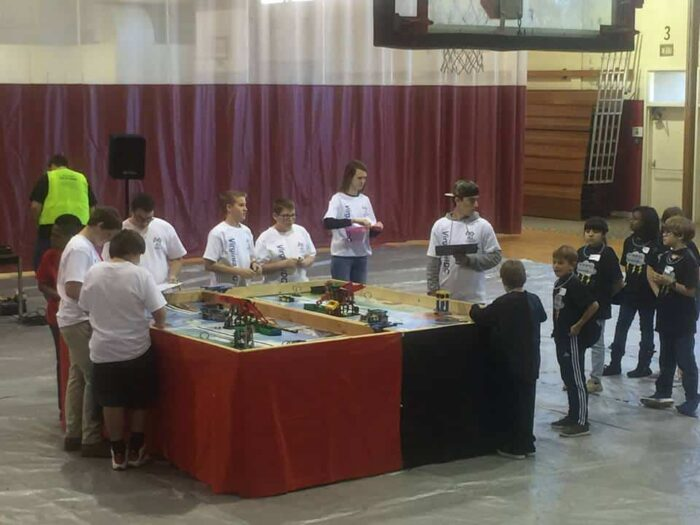 first lego league table