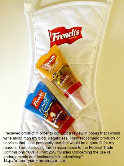 french's flavor infuser ftc disclosure