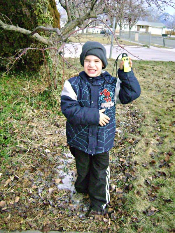 geocaching with geomate jr