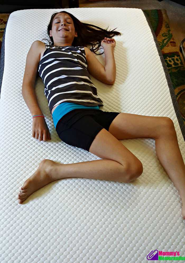 ghostbed conforms to your body