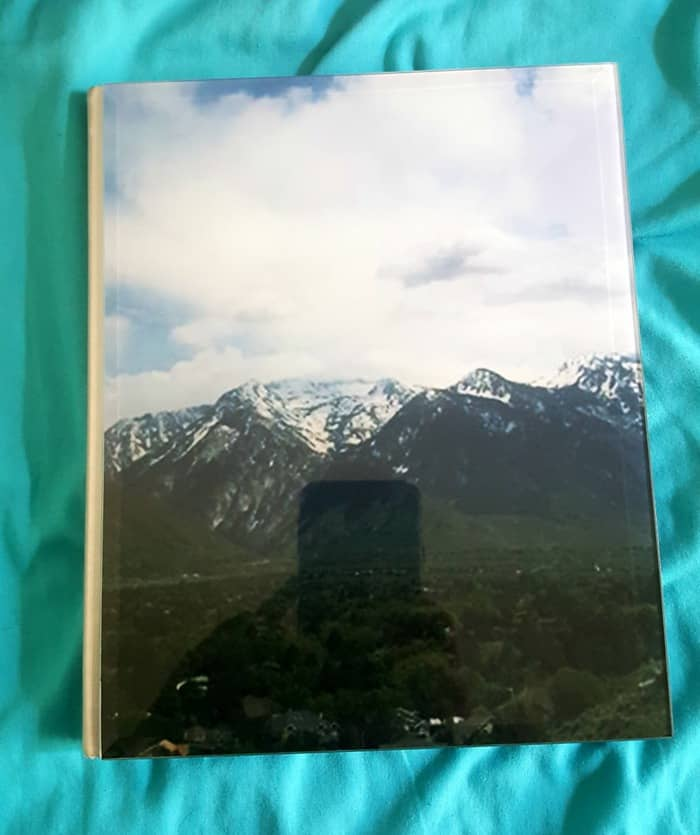 glass crystal photo book utah mountains