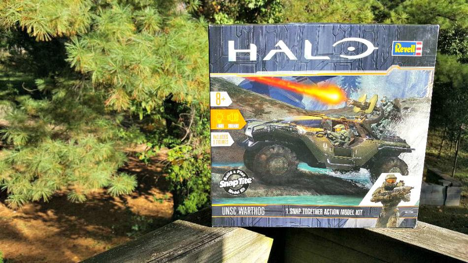 New for Halo Gamers! Combat-Ready Vehicle Model Kits