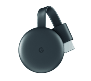 google chromecast streaming media device