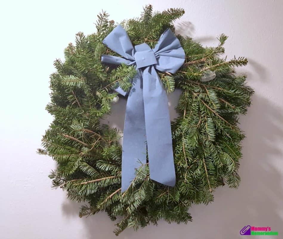 hilltop christmas tree wreath - Hilltop Christmas