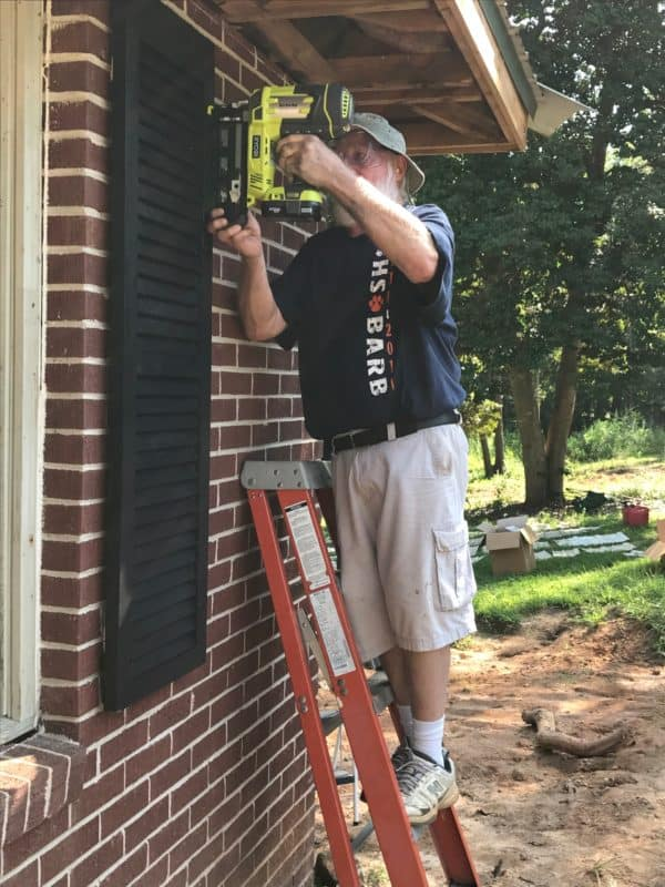 home remodel with ryobi