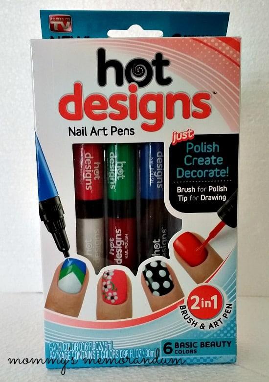 hot designs nail art