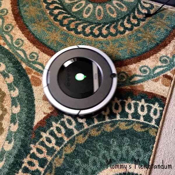 irobot roomba on rugs