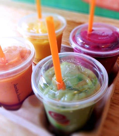 jamba juice fruit smoothies