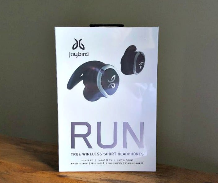 jaybird run true wireless in box