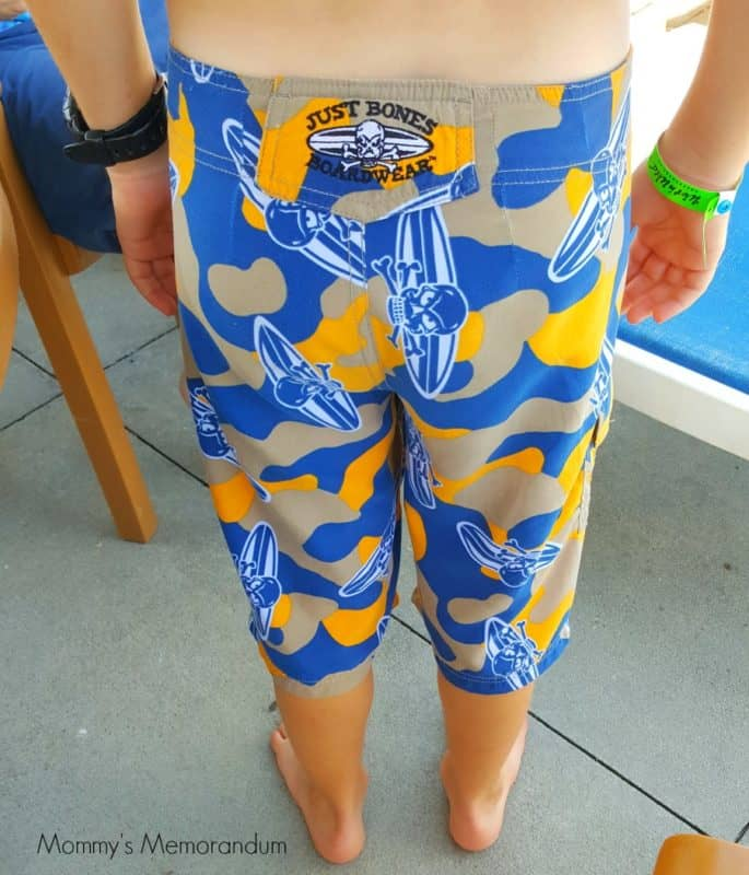 just bones boardwear adjustable shorts