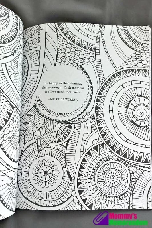 keep calm and color on mother theresa quote