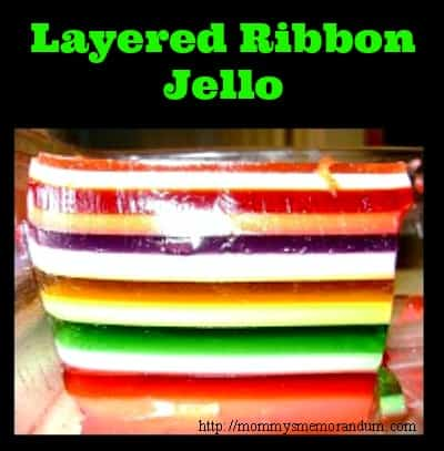 layered ribbon jello recipe