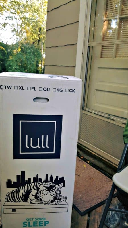 lull mattress delivered to door