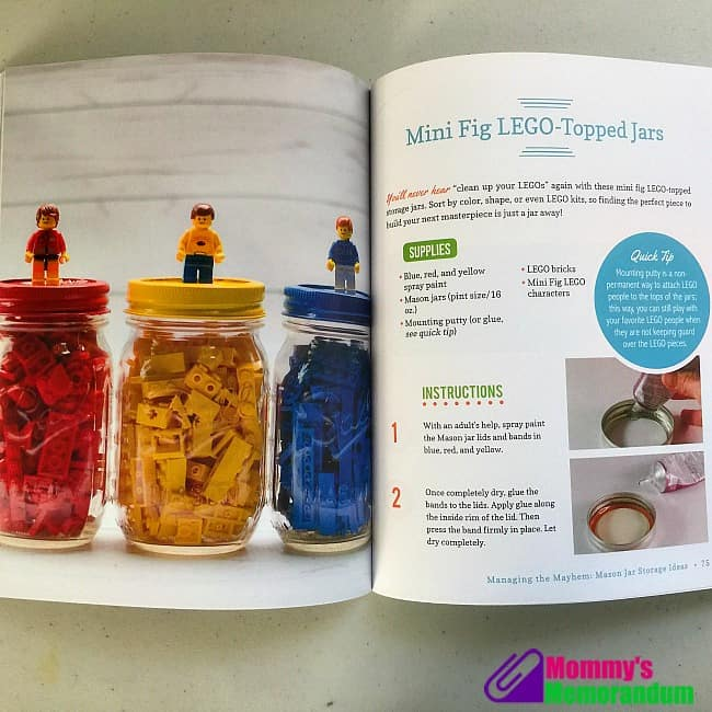 mason jar crafts for kids mini fit lego topped jars