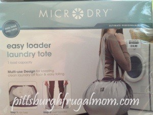 microdry laundry tote