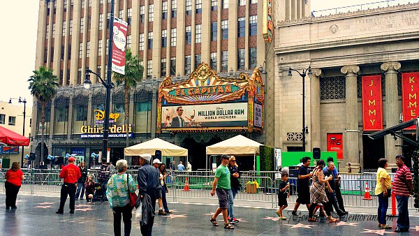 million dollar arm at el capitan theater #milliondollararmevent