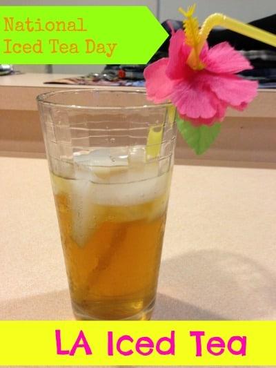 LA Iced Tea Recipe