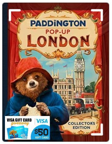 paddington book + $50 Visa card giveaway