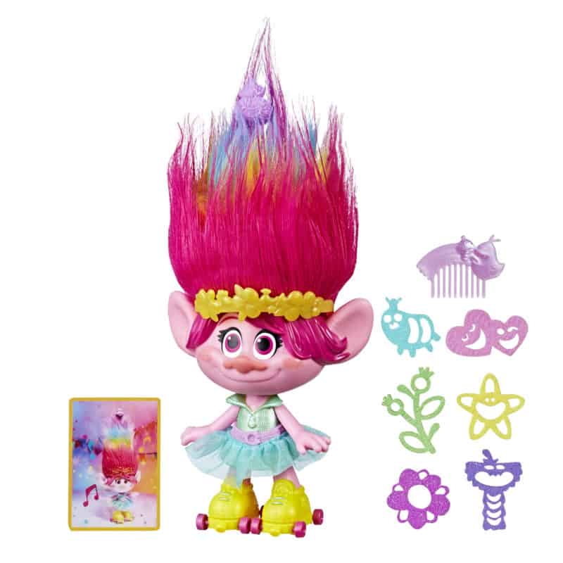 trolls party poppy hair troll