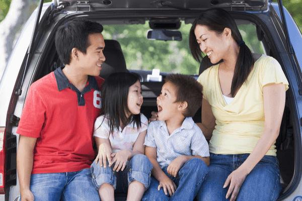 minivan road trip