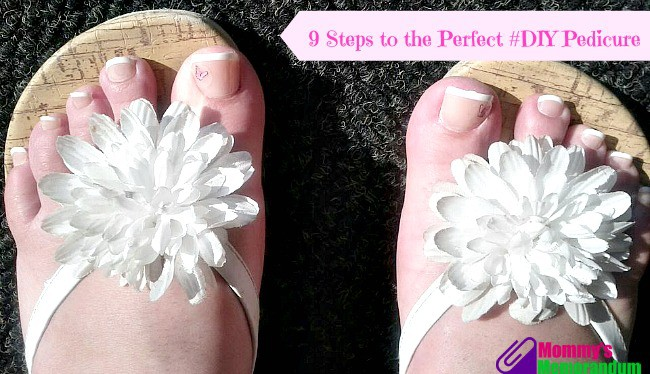 9 steps to the perfect diy pedicure