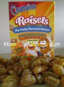 Pucker Up With Raisels