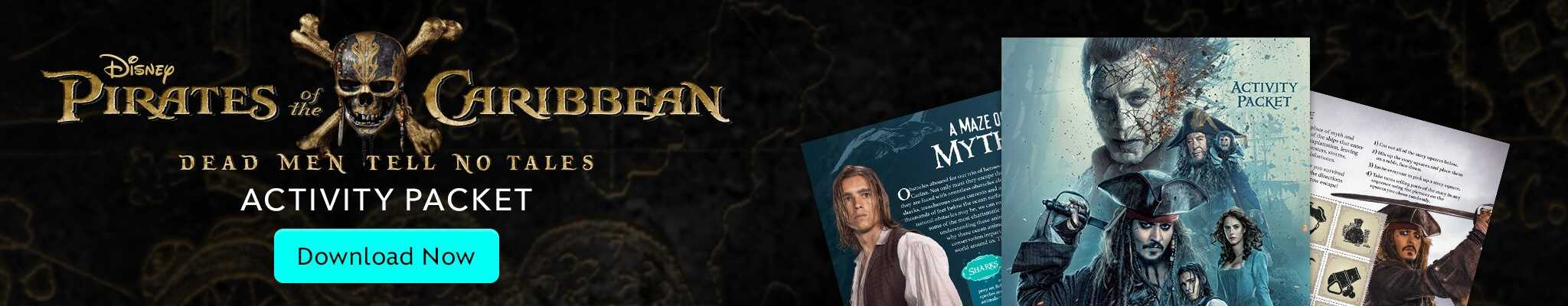 pirates of the caribbean activity packed download now