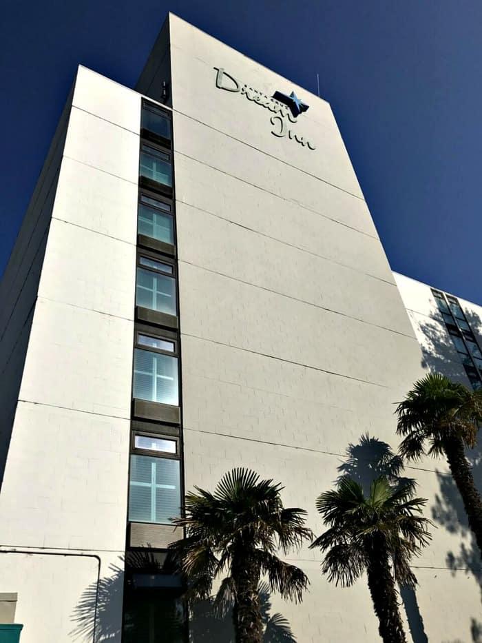 The Santa Cruz Dream Inn is located near Jack O'Neill's original Santa Cruz Surf Shop.